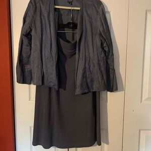 Eileen Fisher Skirt Suit-L XL
